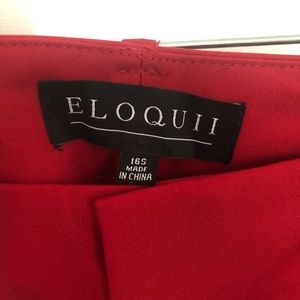 Eloquii Pants - ELOQUII Kady Ankle Pant — NWT